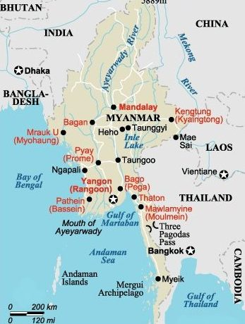 Myanmar (Burma) | An unspoiled country | Book your trip with Cruise